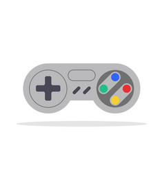 play game isolated joystick icon gamepad computer vector image