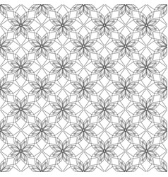 Simular texture with linear geometric ornaments vector