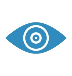 Target goal abstract conceptual icon vector image