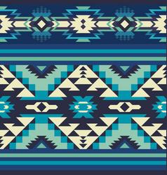 Tribal print aztec navajo seamless pattern vector