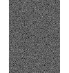White halftone dots pattern on black background vector