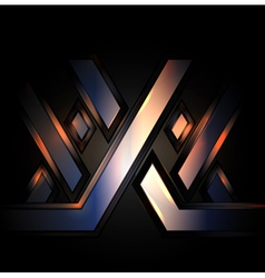 XXX abstract background vector image vector image