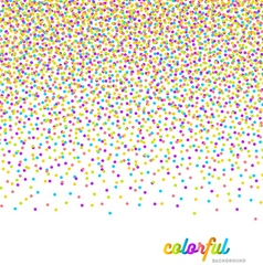 Abstract celebration or party background vector image vector image