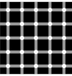 Optical art series Grid vector image