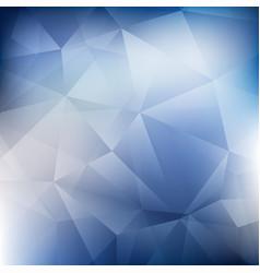 Abstract blue tech design polygon pattern vector