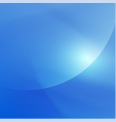 abstract smooth blue flow background for nature vector image