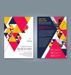 Cover annual report 1164 vector