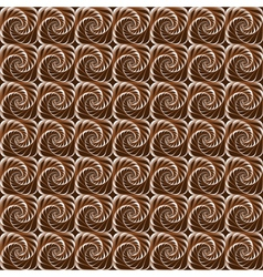 Geometric background with spirals seamless vector
