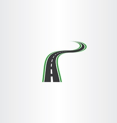 highway logo icon autoroad symbol element vector image