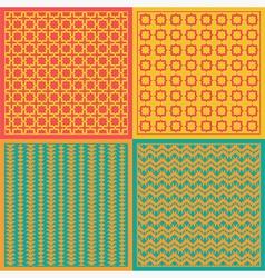 Seamless patterns Net vector