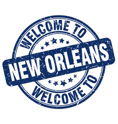 welcome to new orleans vector image