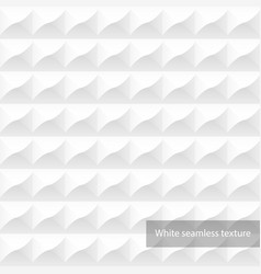 white geometric texture - seamless decorative vector image