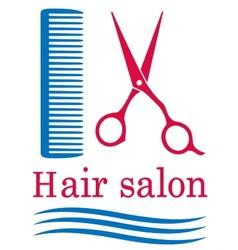 symbol of barbershop vector image vector image