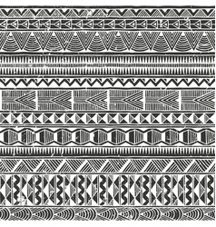 ethnic seamless pattern abstract vector image