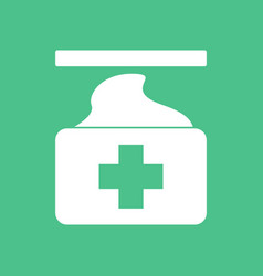 Icon medical napkins vector