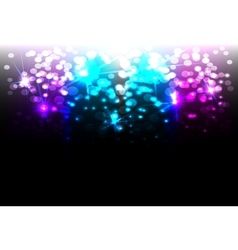 Magic disco background vector image