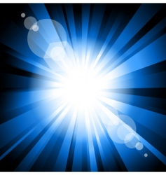 ray of light vector image vector image