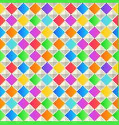 Abstract geometric background colorful seamless vector