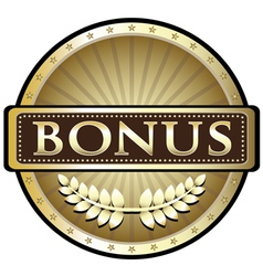 Bonus Gold Award vector