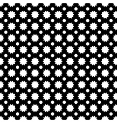 Circle and star abstract seamless pattern vector