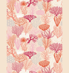 coral texture vector image