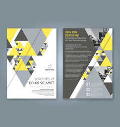 Cover annual report 1169 vector