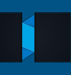 dark grid background with blue graphic segments vector image