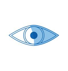 Eye virtual reality 3d augmented vector