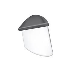 Face cover shield vector
