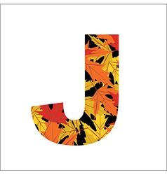J Letter vector