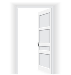 open door - vector image