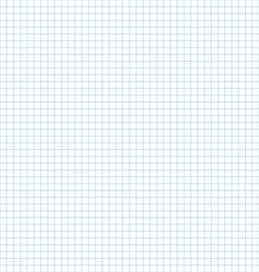 Seamless pattern of School notebook paper sheet vector image