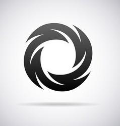 Logo for letter O vector image vector image