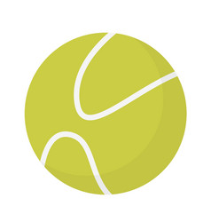 tennis ball cartoon vector image
