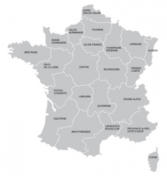 french map vector image
