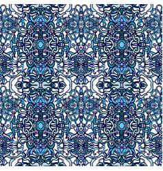 vecor colorful abstract seamless pattern vector image vector image