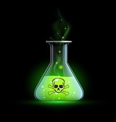 Poisonous liquid stock vector
