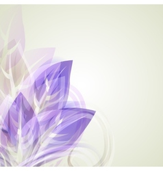 Abstract artistic Background with with purple vector image