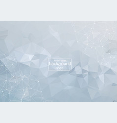 abstract low poly geometric background with vector image