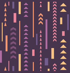 abstract seamless pattern geometric decorative vector image