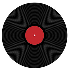 Big phonograph records vector
