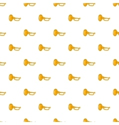 Music tube pattern cartoon style vector image