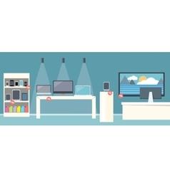 Sale of smartphone design flat store vector