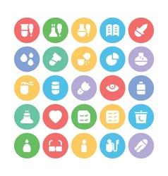Science Colored Icons 11 vector