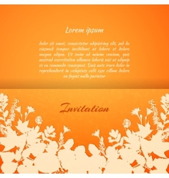 painted leaves vector image