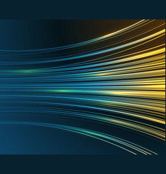 Speed motion blue light curves abstract tech vector