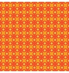 Circle and star abstract seamless pattern vector image