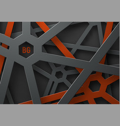 design a background with a cobweb of black and vector image