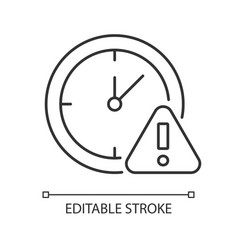 Do not use for a long time linear manual label vector