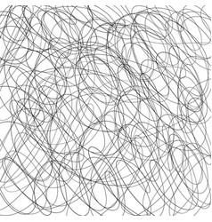 Pen tangled scrawl line sketch background hatched vector